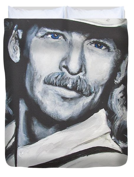 Alan Jackson - In The Real World Duvet Cover