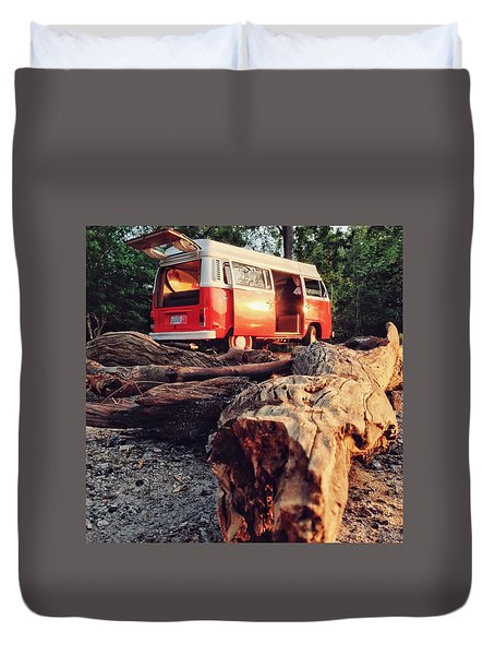 Alani By The River Duvet Cover