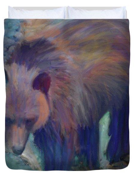 Alaska Bear  Duvet Cover