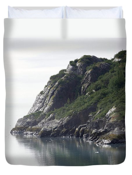 Alaska Coast Duvet Cover