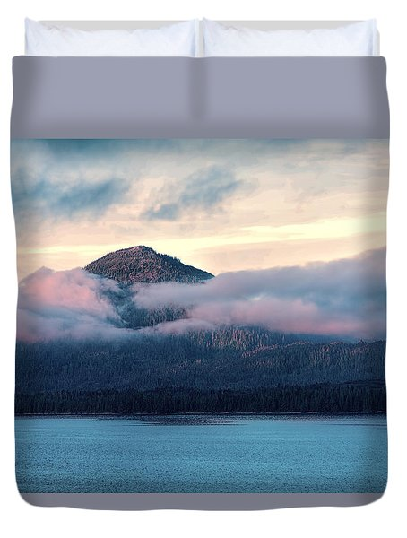 Alaska Dawn 2 Duvet Cover