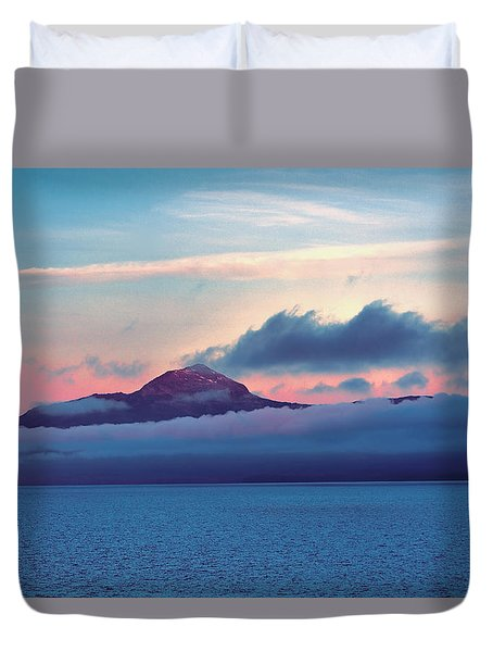 Alaska Dawn Duvet Cover