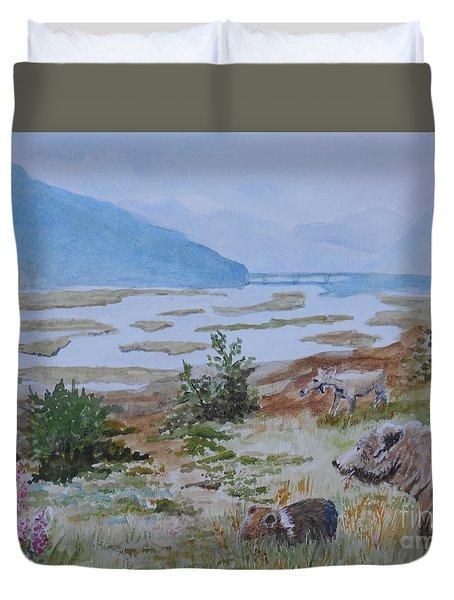 Alaska - Denali 2 Duvet Cover