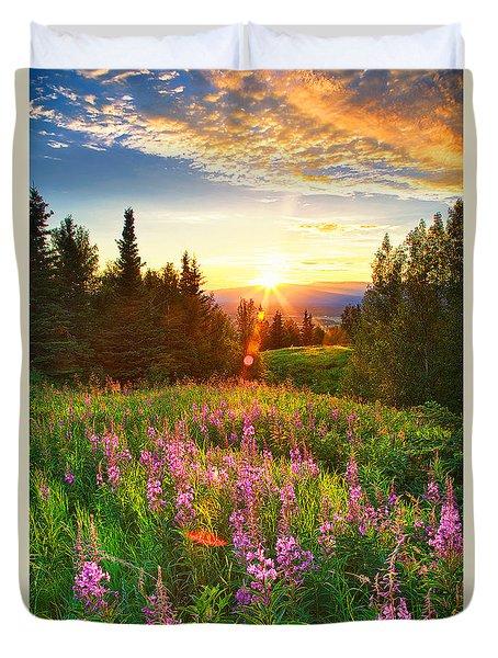 Alaska Field Duvet Cover