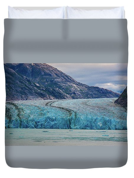 Alaska Glacier Duvet Cover