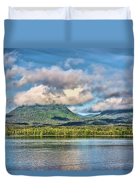 Alaska Morning Duvet Cover