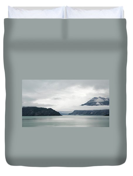 Alaska Waters Duvet Cover