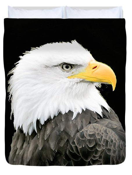 Alaskan Bald Eagle Duvet Cover