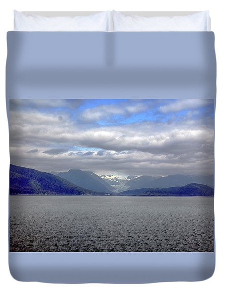Alaskan Coast 2 Duvet Cover