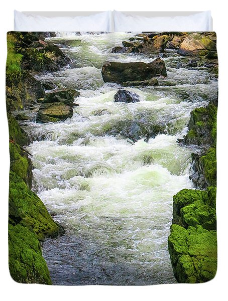 Alaskan Creek Duvet Cover