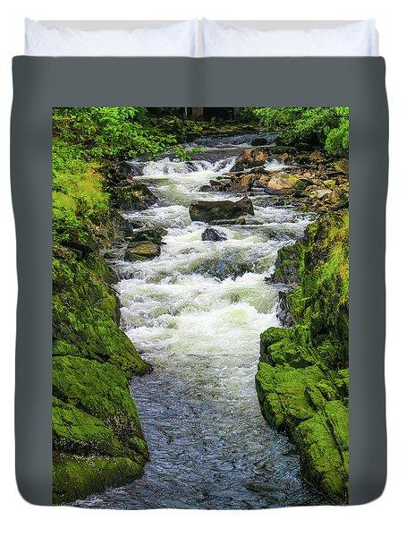 Alaskan Creek Duvet Cover