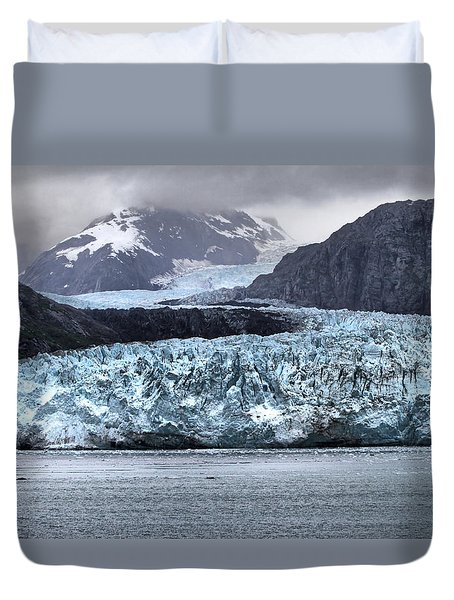 Glacier Bay National Park Duvet Cover