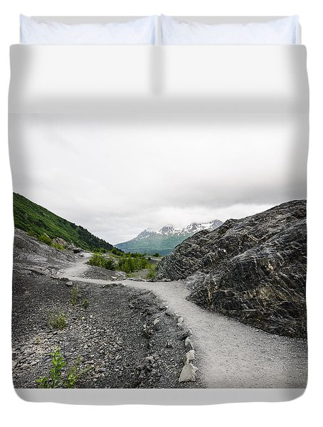 Alaskan Peaks Duvet Cover