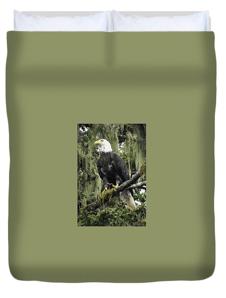 Alaskan Regality Duvet Cover by Don Mennig