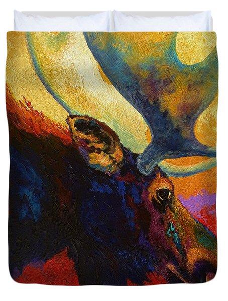 Alaskan Spirit - Moose Duvet Cover