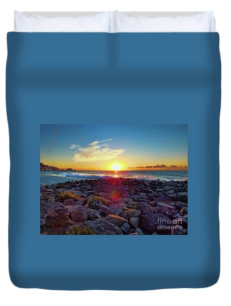 Alassio Sunset Duvet Cover