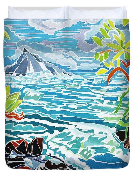 Alau Island Duvet Cover by Fay Biegun - Printscapes