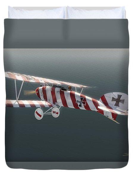 Albatros D.iii Of Jasta 11 Duvet Cover by David Collins