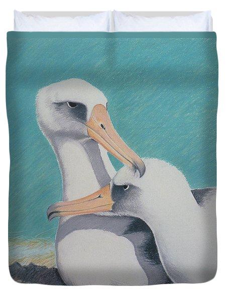 Albatros Love Duvet Cover