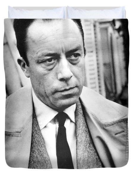 Albert Camus (1913-1960) Duvet Cover