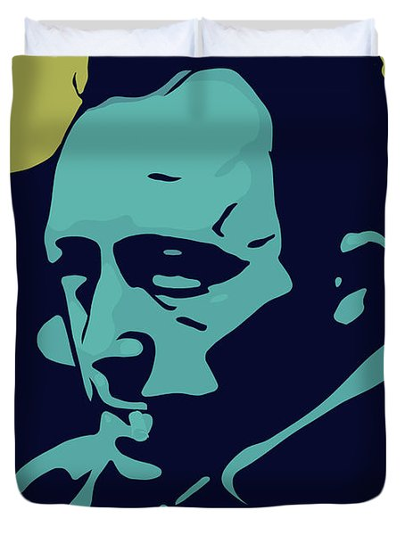 Albert Camus Duvet Cover