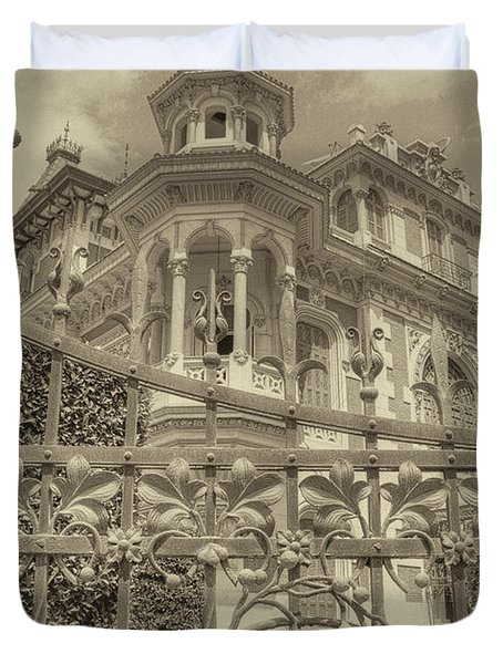 Albert Chamas Villa Duvet Cover