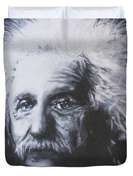 Albert Einstein Duvet Cover