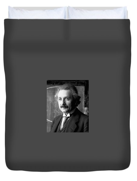 Albert Einstein Nel 1921 Duvet Cover