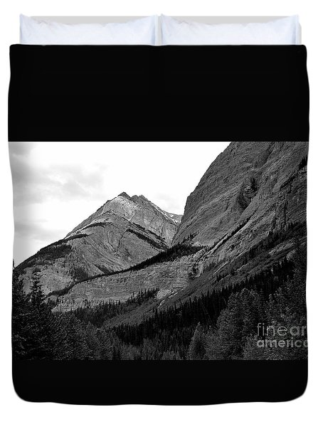 Duvet Cover featuring the photograph Alberta, 2015 by Elfriede Fulda