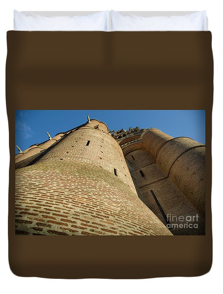 Albi Cathedral Low Angle Duvet Cover by RicardMN Photography