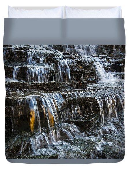 Albion Falls Duvet Cover