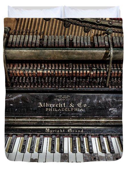 Albrecht Company Piano Duvet Cover