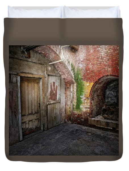 Alcatraz #2 Duvet Cover by Jerry Golab
