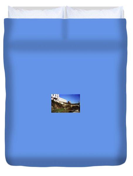 Alcatraz Water Tank Prison  Duvet Cover