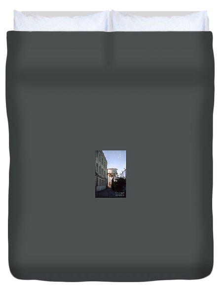 Alcatraz Water Tank  Duvet Cover