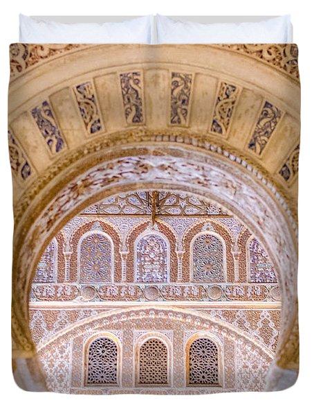 Alcazar Of Seville - Unique Architecture Duvet Cover