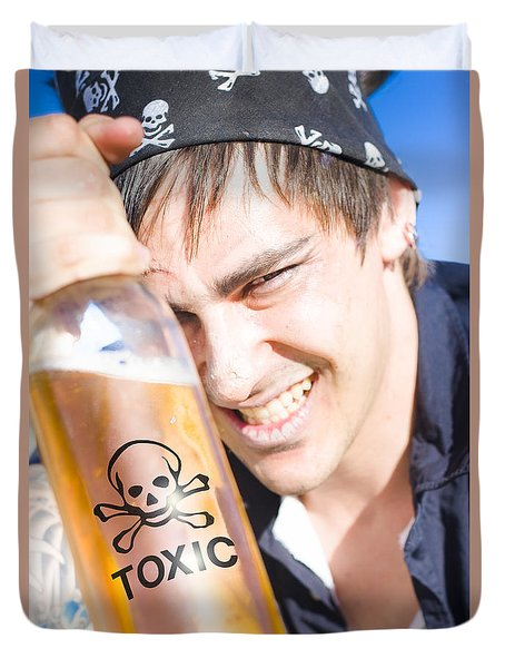 Duvet Cover featuring the photograph Yo Ho Ho And A Bottle Of Rum by Jorgo Photography - Wall Art Gallery