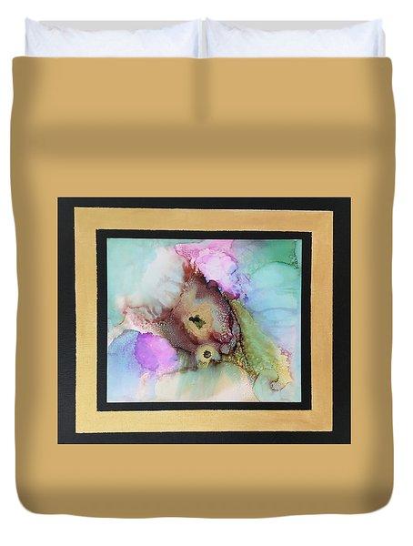 Alcoholic Flower Duvet Cover