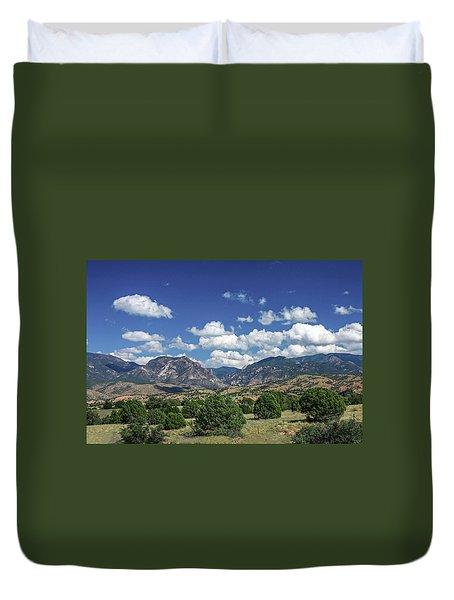 Aldo Leopold Wilderness, New Mexico Duvet Cover