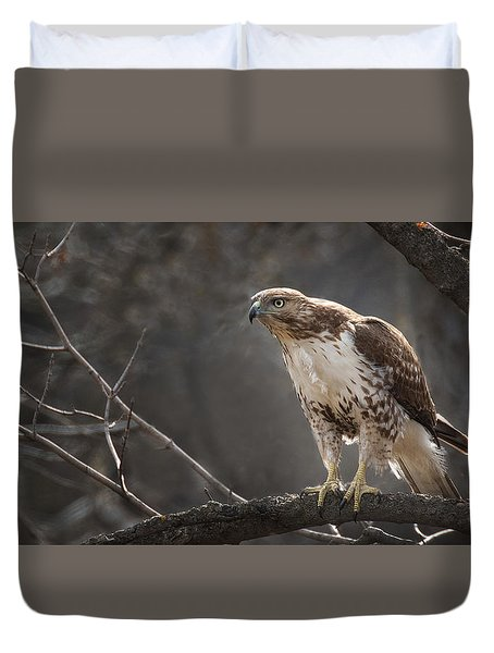 Alert And Ready Duvet Cover