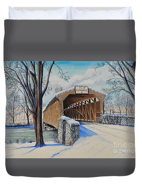 Alexander Bridge Duvet Cover