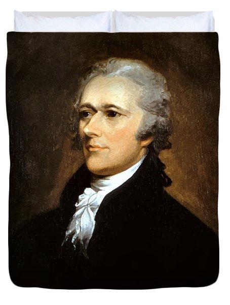 Alexander Hamilton Duvet Cover