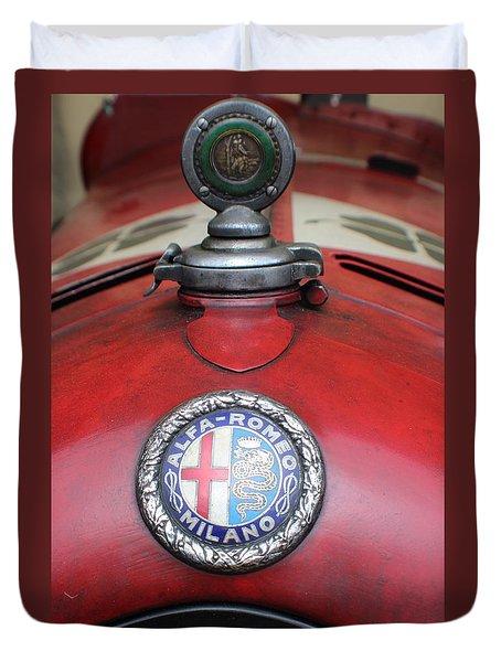 Alfa Romeo 8c 2600 Muletto Duvet Cover