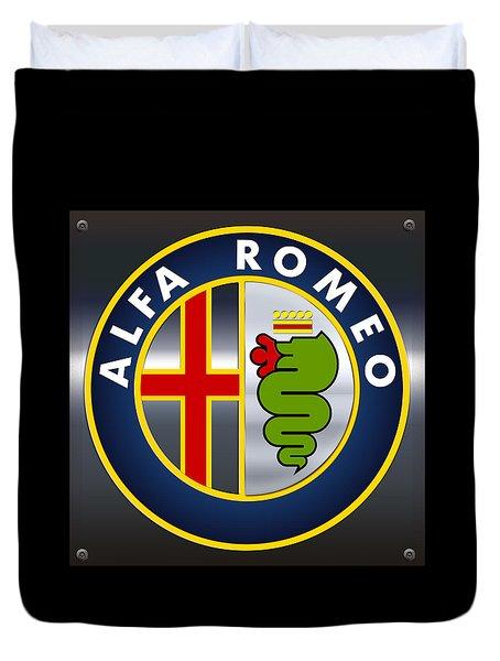 Alfa Romeo Logo Duvet Cover