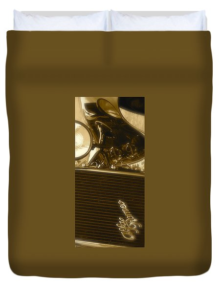 Alfa Romeo Front Grille Detail Phone Case Duvet Cover by John Colley