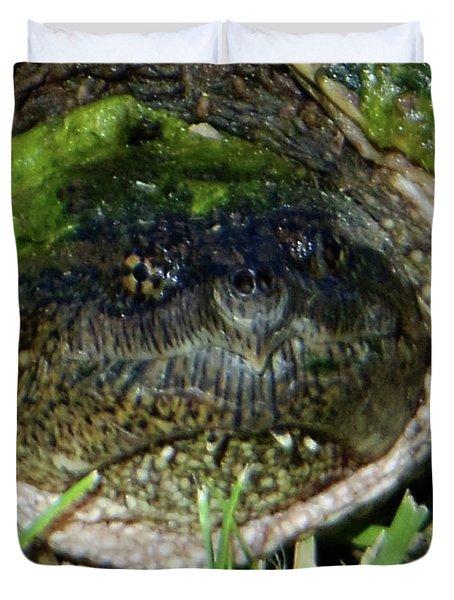 Algae Face Common Snapper Duvet Cover