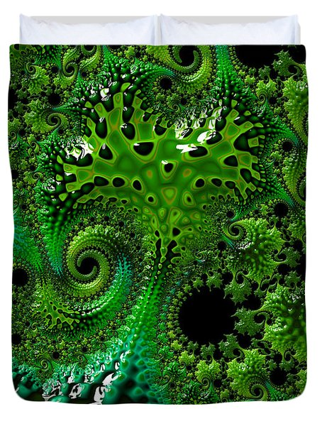 Algae Duvet Cover
