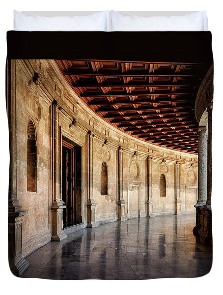 Alhambra Reflections Duvet Cover by Marion McCristall