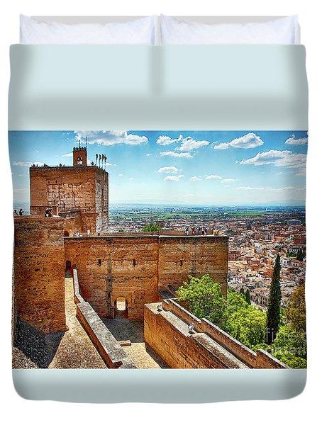 Alhambra Tower Duvet Cover