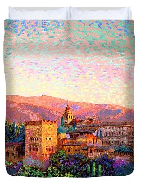 Alhambra, Granada, Spain Duvet Cover